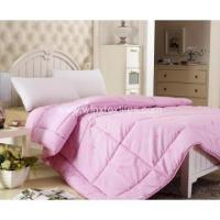 Wholesale Quilts Microfibre Polyester Soft Touch Solid Printed Quilt Set from china suppliers