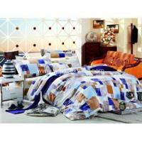 Printed Bed Sheet Sets 100% Cotton Pigment Printed Bed Sheet Set /quilt Cover Set