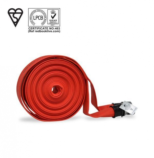 Quality Single Jacket Hose - Kitemark & LPCB Approved, Type 2 for sale