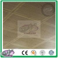 Punching Holes Fireproof Safe Acoustic Suspended Ceiling Panels