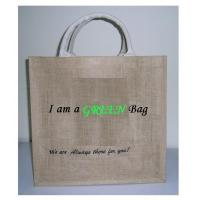 Wholesale Green Jute Bag Product CodeGJB from china suppliers