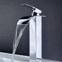 Wholesale Single Handle Waterfall Bathroom Sink Basin Faucet Mixer Tap ...