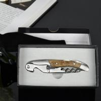 Wholesale Wooden handly bottle opener corkscrew for wine from china suppliers