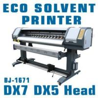 Wholesale 1.8m dx7 eco solvent plotter 1440dpi for vinyl / flex / banner / frontlit / backlit from china suppliers