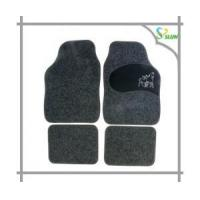 Wholesale Eco-friendly and fashionable custom rubber PVC car mat supplier from china suppliers