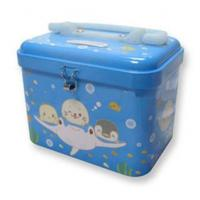 Wholesale handle lunch metal tin box from china suppliers