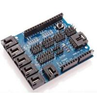 Wholesale Sensor Shield V4.0 Sensor Expansion Board For Arduino Robot Electronic Building Blocks from china suppliers
