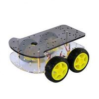 Buy cheap Smart car chassis four-wheel drive double smart car from wholesalers
