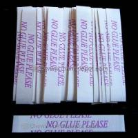 """Wholesale No Glue Please Straight Strips 1/2"""" x 3"""" 36 Count from china suppliers"""