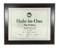 Wholesale Christmas Decor Cherry Hole-In-One Certificate Frame from china suppliers