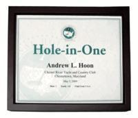 Wholesale Christmas Decor Hole-In-One Shadow Box Certificate Frame from china suppliers