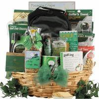 Wholesale Christmas Decor Deluxe Golfer: Gourmet Golf Gift Basket from china suppliers