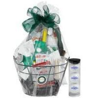 Wholesale Christmas Decor Father's Day Golf Gift Basket from china suppliers