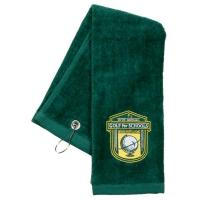 China Best Sellers Tri-Fold Golf Towels Embroidered With your Logo on sale