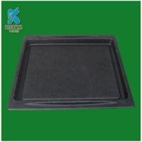 Black color compostable molded fiber packaging