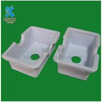 Buy cheap biodegradable molded paper pulp packaging tray from wholesalers
