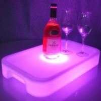 Wholesale Square Flash Wine Holder Fruit Plate from china suppliers