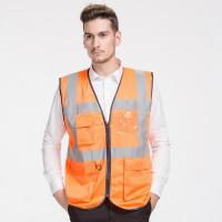 Wholesale high visibility vests with pockets High Visibility Safety Vest With Pockets from china suppliers