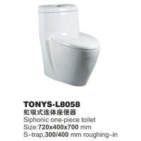 Wholesale One Piece Toilet TONYS-L8058 from china suppliers