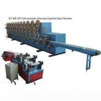 Wholesale XY-RR-285 Full-automatic drawing cigarette rolling paper machine from china suppliers