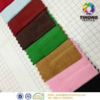 Wholesale Dyed cotton corduroy stripe fabric from china suppliers