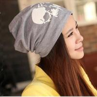 Wholesale men winter skull printing hats for wholesale from china suppliers