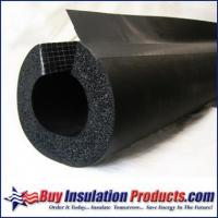 Wholesale Rubber Split w/SSL Rubber Pipe Insulation Split with DoubleSeal (1/2 Thick) from china suppliers