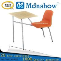 China Conneched School Desk And Chair on sale