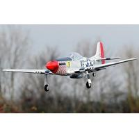 China Large P-51 Mustang 1400mm/55.1'' Electric RC Airplane 100% Reday-To-Fly on sale