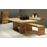Wholesale dark wood kubo closed contemporary folding dining table from