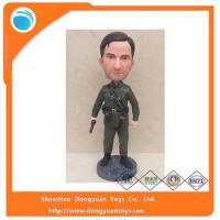 Wholesale Make Your Own design of Resin Soldier Bobble Head from china suppliers