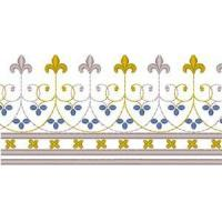 Buy cheap Christian Embroidery Designs Vintage Ecclesiastical Design 18 from wholesalers