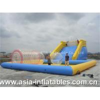 Wholesale Inflatable Zorb Ramp and Water Pool Combo from china suppliers