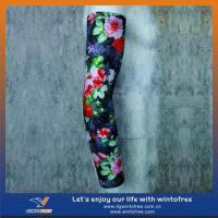 Wholesale China made spandex Custom sports sun protective arm sleeves(82%Nylon+18%spandex) from china suppliers