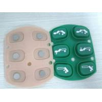 Wholesale Calculator / Typewriter Embossed Silicone Rubber Keypad With Silk Printing Graphic from china suppliers