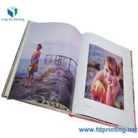 China Professional 2.5mm thickness cardboard hardcover photo book printing with high quality on sale