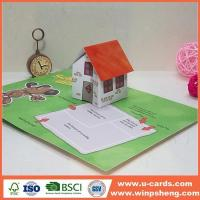 Wholesale Handmade Card Making Anniversary Pop Up Animal Greeting Cards from china suppliers