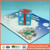 Wholesale Handmade Card Best Easy Pop Out Up Greeting Cards For Kids from china suppliers