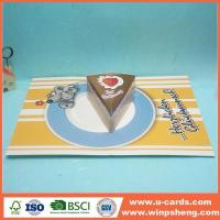 Wholesale Handmade Card Printable Cut Out Pop Up Birthday Cards from china suppliers
