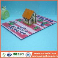 Wholesale Handmade Card Buy Kids Popp Up Greeting Card from china suppliers