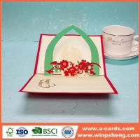 Wholesale Handmade Card Pop Up Paper Card Wedding Templates Maker from china suppliers