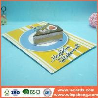 Wholesale Handmade Card Easy Homemade Pop Out Up Birthday Card Template To Make from china suppliers