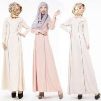 Wholesale 2016 Aliexpress hot design long sleeves O neck casual muslim clothing for women MSL0020 from china suppliers