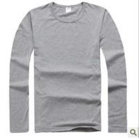 Wholesale T-shirt/Polo Agent's authentic long sleeve T-shirt male from china suppliers