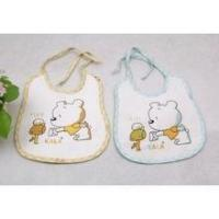 Wholesale Best Quality Cotton Embroidery Cheap Baby Bibs