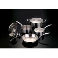 Wholesale Tri-ply stainless steel cookware sets from china suppliers