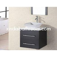 Wholesale wood vanity bathroom sink with cabinet model sc 1808 from