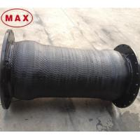 Wholesale Strong Reinforced 12 inch Rubber Hose Pipe with Flanged Joint from china suppliers