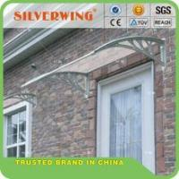 long-weather resistance solid sheet shelters for balcony for anti uv covers