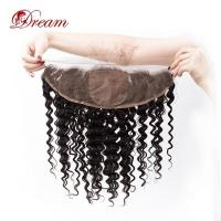Wholesale 13x4 Lace Frontal Silk Base Deep Wave Natural Color from china suppliers